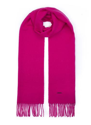 Silk and Cashmere Atkı Fuşya